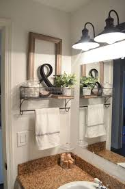 downstairs bathroom ideas farmhouse bathroom organization bathroom organization towels