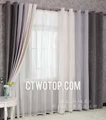 long living room curtains deep multi colors blended materials living room or bedroom