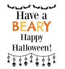 happy halloween printables healthier halloween treat ideas free