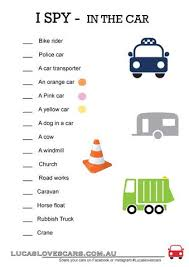 i spy printable for a car trip u2013 lucas loves cars