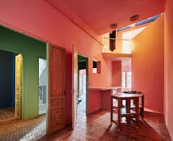 home colors interior a designer s barcelona home where color is king sight unseen