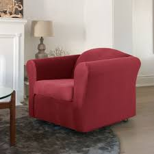stretch sofa slipcover surefit jagger stretch sofa slipcover walmart canada