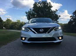 nissan sentra light blue first drive 2017 nissan sentra sr turbo the intelligent driver