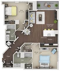 floor plans at the bernardin upscale apartments in gold coast