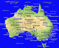 major cities of australia map australia map in of showing major cities world maps