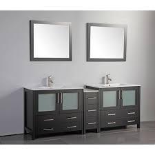 84 Double Sink Bathroom Vanity by Fresca Torino 84