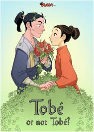to be pucca tobe or not tobe by littlekidsin on deviantart