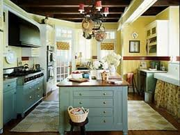 blue kitchen cabinets and yellow walls teal cabinet cottage kitchen
