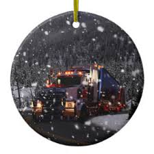 truck driver ornaments keepsake ornaments zazzle