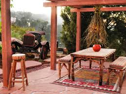Rustic Outdoor Rugs Backyard Dining Area Ideas Rustic Outdoor Living Spaces Outdoor