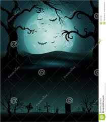 green halloween background creepy tree halloween background with full moon royalty free stock