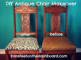 Antique Dining Room Chairs Duck Creek Diy Antique Dining Room Chair Makeover With Tutorial
