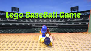 lego baseball game youtube