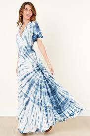 cool tie dye dress maxi dress wrap dress 49 00