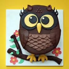 owl cake owl cake we how to do it