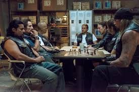 Sons Of Anarchy Meeting Table Sons Of Anarchy Recap An Surfaces In Monumental