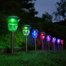 multi colored solar garden lights solar lights in the garden how to choose the right solar ls