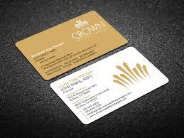 Crown Business Cards Elegant Upmarket Business Card Design For Liz Metzger By Creative