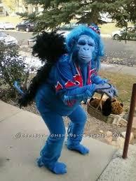 Flying Monkey Costume Original Blue Flying Monkey Homemade Halloween Costume Homemade