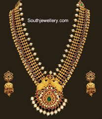 gold haram sets antique gold haram set jewellery designs