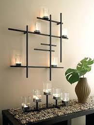 sconce contemporary candle holder centerpiece modern candle
