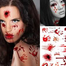 online buy wholesale halloween fake scars from china halloween