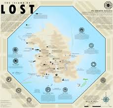Geography Map Cartographer Creates Full Map Of Lost Island