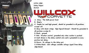 1978 1982 corvette wiper switch testing w pulse wipers willcox