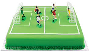 football cake pme fs009 football soccer cake topper set of 9