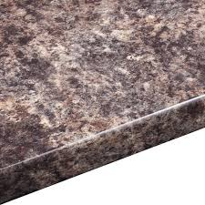 38mm jamocha gloss laminate brown round edge worktop l 3000mm d