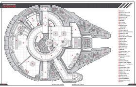 millenium falcon floor plan a floor plan of the millennium falcon from star wars from the