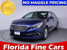 used 2017 hyundai sonata se sedan for sale in miami fl 84545