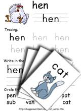 cvc words phonics worksheets