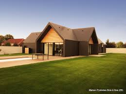 extension maison contemporaine maison bois contemporaine pyrénées bois maisons ossature bois 64