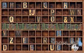 3d Bookshelf Bookcase Bookshelves Wall Murals Bookshelf Wall Mural Bookshelf
