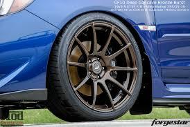2015 wrx sti aftermarket wheel forgestar cf10 wheels for subaru wrx brz sti 5x100mm