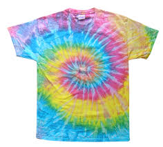 the saturn short sleeve tie dye t shirt is a combination of blue
