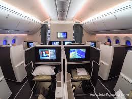 Boeing 787 Dreamliner Interior Oman Air Business Class Boeing 787 Dreamliner