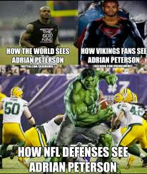 Adrian Peterson Memes - 22 meme internet how the world sees adrian peterson how vikings