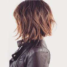 bob haircut with low stacked back shoulder length 60 messy bob hairstyles for your trendy casual looks