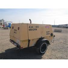 1995 atlas copco xas90jd s a towable air compressor