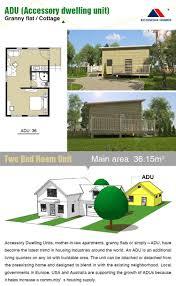 america style villa granny flat for 42m2 adu america standard