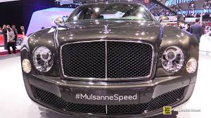 bentley mulsanne interior 2014 2015 bentley mulsanne speed exterior and interior walkaround
