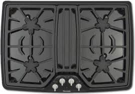 30 Inch Downdraft Gas Cooktop Kitchen Best 30 Inch Masterpiece Series Gas Cooktop Sgsx305fs In