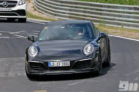 Exclusive Porsche 991 2 Carrera Spotted Without Camouflage