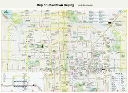 Beirut On Map Beijing Maps Attractions Subway Downtown And District