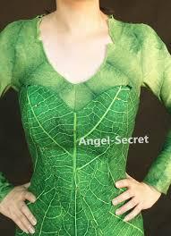 p456 green tinkerbell flannel leaf print dress costume custom made