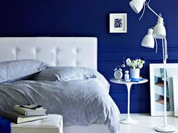 bedroom ideas in blue interior design