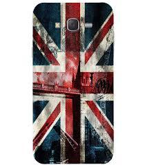 London Flag Casotec London Flag Wallpaper Printed Hard Shell Back Cover Case
