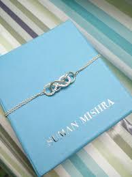 Infinity Bracelet With Initials Suman Mishra Jewelry